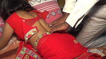 नव विवाहित भारतीय गृहिणी कमबख्त प्रेमी द्वारा